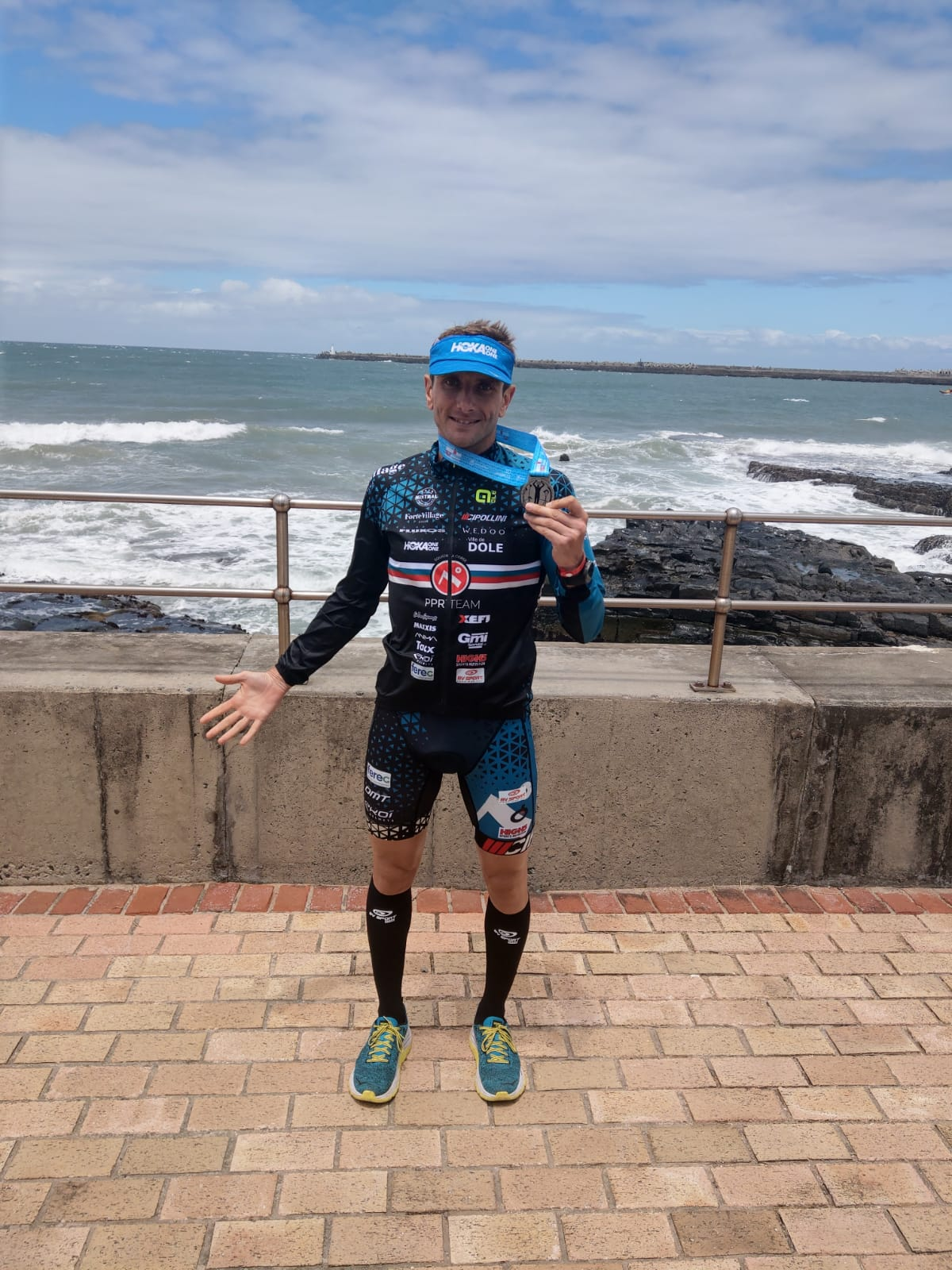 IRONMAN 70.3 Sudafrica, Cyril Viennot 4° classificato