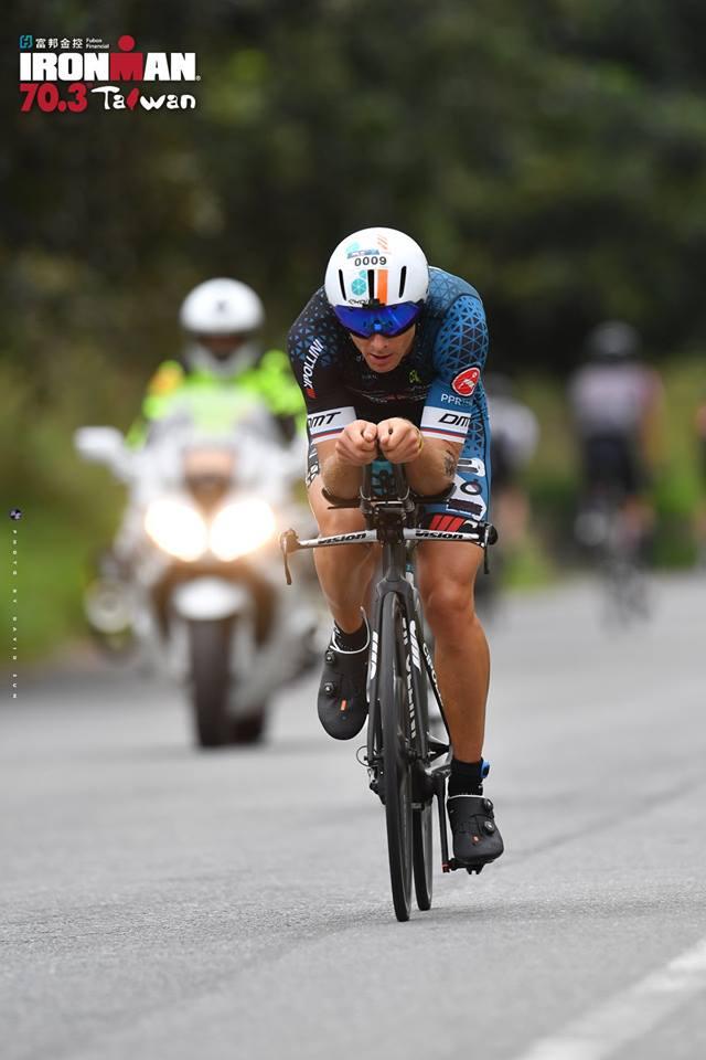 Ironman 70.3 Taiwan, Cyril Viennot trionfa ancora!